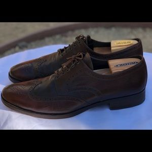 NW Johnston&Murphy Italian Handcrafted Oxford Sz12